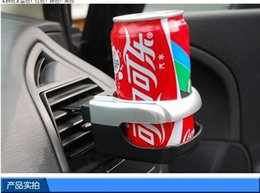 Wholesale Drink Coffee Cup Holder Clip - Auto Car Air Vent Bottle Can Coffee Drinking Cup Holders Stand Mount Tray Outlet cup coffee clip holders for car auto supplies