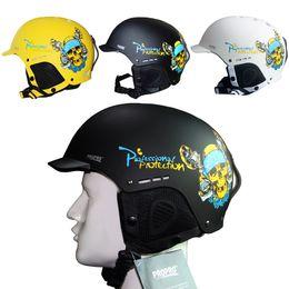 Wholesale Outdoor Certification - Wholesale-Half-covered CE Certification Ski Helmet Integrally-molded Outdoor Sports Cycling Skiing Helmet Snowboard Helmet