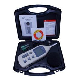 Wholesale Mini Digital Sound Level Meter - BENETECH Digital Sound Level Meter Noise Meters USB Noise Tester meter GM1356 30-130dB With Carry Box Mini USB Digital integrating