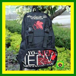 Wholesale Backpack Stickers - Hot Sale! + 1 Sticker Anime Manga Neon Genesis Evangelion EVA School bag Backpack EVA Backpack Racksacks ZH Free Shipping