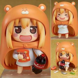 Wholesale R Modelling - Japanese Anime Figure U M R Cute Nendoroid Doma Umaru PVC Action figure Model Toy 10cm