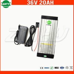 Wholesale 36v Lithium Battery - e-Bike Battery 36v 20Ah Lithium ion Battery 36v Built in 30A BMS for Electric Bike 800w Power with 2A Charger Free Shipping