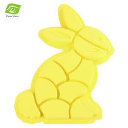 Wholesale Cookies Bunny - Animal Shaped Silicone Mold Easter Bunny Cake Mold Pastry Baking Tools Rabbit Cookie Cake Mould