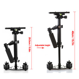 Wholesale Steadicam Dslr Stabilizer - Freeshipping 40cm Professional Handheld Stabilizer Steadicam for Camcorder Digital Camera Video Canon Nikon DSLR Mini Steadycam