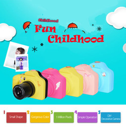 Wholesale Small Children Picture - 10 lot Children LSR Camera 1.0MP Digital Kids Cam Small Size Take Picture LCD screen High Quality