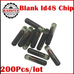 Wholesale Porsche Golf - Wholesale price!!!200pcs lot blank Glass Chip id 48 chip Transponder Crypto ID48 VW Golf Audi A3 A4 Seat Skoda in stock