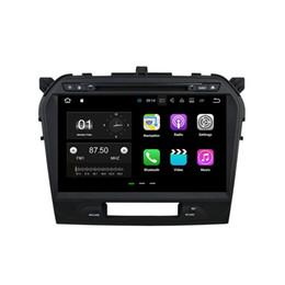Wholesale India Gps Maps - 10.1'' Android 7.1 Car DVD Radio Stereo GPS Player For Suzuki Vitara 2015 2016 With Camera 2016 Map