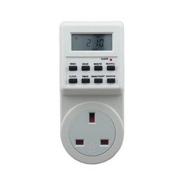 Wholesale Electronic Energy Saving - Programmable Electronic Energy Saving Timer Socket EU AU UK US Socket Intelligent Home Control Automation Timer Switch Wall Plug for Andoi
