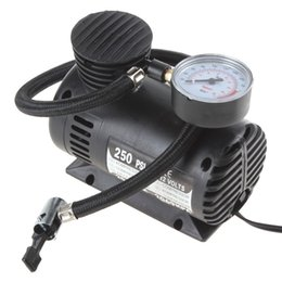 Wholesale Motorcycle 12v Air Pumps - Portable 12V 90W 250PSI 20.7Bar 2069KPA Electric Pump Air Compressor Tire Inflator for Motorcycles   Electromobile   Canoeing
