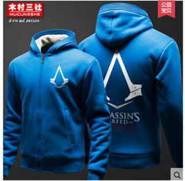 assassins hoodie Rabatt Heiße neue Assassins Creed III 3 Conner Kenway Hoodie Decklack Jacke Cosplay Kostüm