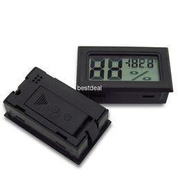 Wholesale Mini Industry - FY-11 -50-70C 10%~ 99% RH Detecting Head RH Mini LCD Digital Thermometer Temperature Humidity Meter Aquarium Gauge Industry Hygrometer