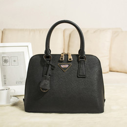 Wholesale Patent Messenger - best quality fashion brand female bags 2017 new designer brand lady messenger bag patent leather handbag shoulder bag ladies shopping bag