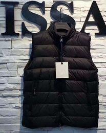 Wholesale French Parka - men gillets French Body Warmer anorak gilets Men winter vest High Quality Warm Plus Size Man Down and parka anorak vest