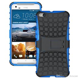 Wholesale Robot Stand Case - Heavy Duty Rugged Defender Robot Cell Phone Protective Hybrid Kickstand Case For HTC Desire 826 820 828 X9 Cover Skin With Stand Shockproof