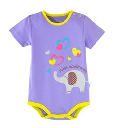 Wholesale Top Short Tight Dresses - 60pcs Baby Girls Bodysuits Newborn Clothes Cotton Overall Infant Body Cover One-piece Dress Toddler Jumpsuit Tops Tights