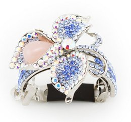 Wholesale Tires Wholesale Manufacturers - Popular beauty flashing diamond horsetail buckle Austrian crystals ponytail holder of hair accessories tire wholesale manufacturer