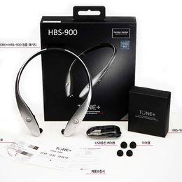 Lg collier de bluetooth en Ligne-HBS-900 Bluetooth V4.1 Écouteur Tone + Neckbands Sans Fil Stéréo Infinim Neckbands HBS900 Téléphone portable Bluetooth CSR Sport Headphone DHL livraison