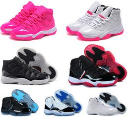 Wholesale Velvet Balls - Women basketball shoes sneakers air retro 11 Concord 72-10 Bred space jams Legend Blue heiress velvet barons gold cheap new basket ball
