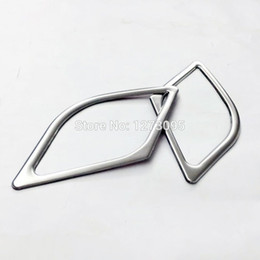 Wholesale Stereo Hyundai - For 2015 Hyundai Tucson stainless steel Door Stereo Speaker Ring Cover Decoration Trim Car Styling Accessories