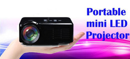 Wholesale Projector Tablets - Mini Portable Projector BL-35 LCD Projectors HDMI VGA HD 3D Video Home Theater TV Multi-Media Player for Tablet PC Laptop USB SD Phone