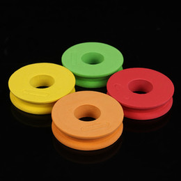 Wholesale Plated Wire Coils - Diameter 4.5CM Fishing Line Winding Board Round Foam wire panels Main Spool Foam Coil Plate Lure Fishing Accessory