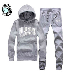 Wholesale Bbc Brand -  winter brand Hoodies BBC hoodies hooded pullover hoodie +pants 2016 BBC button hoodie