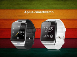 Wholesale Unlock Andriod - TNT POST GV18 Aplus Smart Watch Phone Camera NFC Unlocked Micro SIM Card Slot Quad Band Bluetooth Gear For Iphone Andriod Smartphones