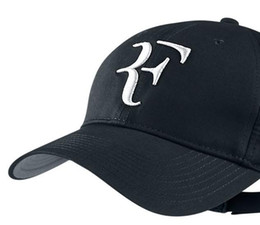 Wholesale Roger Federer Cap - 2016 Limited edition latest foreign trade tennis Roger Federer RF Tennis tennis hat cap free shipping