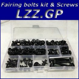 Wholesale R6 Bolts - Fairing bolts kit screws for YAMAHA YZF R1 1998-2012 YZF-R1 YZFR1 98-12 YZF R6 1998-2000 YZFR6 98-00 YZF-R6 fairing screw bolts kit