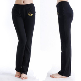 Wholesale Belly Dance Bottoms - Wholesale-Basic cotton spandex dance pants ladies practice yoga pants Yoga clothes bottoms pants belly dance practice pants XC-5223