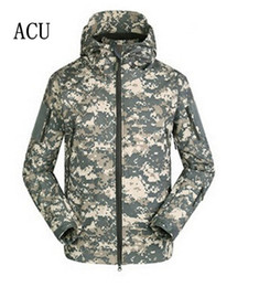 Wholesale Eco Power - Stealth Shark TAD Skin Waterproof Military Outdoors Jacket Men Sport Softshell for Hike hunting Tactical Camouflage Army Hoodie ouc002