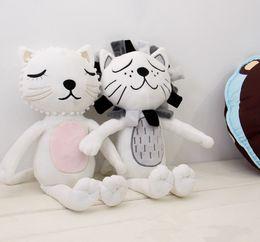 Wholesale Baby Boy Birthday Gifts - 16X33cm Sweet Baby Toys 2016 cartoon animals Lion Cat Shape Dolls Kids girl boy Room Bed Decoration Birthday Gift Size