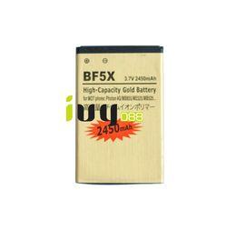 Wholesale Battery Defy - 2450mAh Gold Replacement Battery For Motorola BF5X Defy Photon 4G MB855 ME525 MB525 Bravo MB520 ME863 XT531 xt883 Defy mini XT860 Batteries