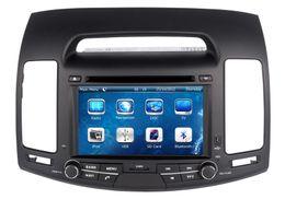 Wholesale dvd elantra - Car DVD Player for Hyundai Elantra 2007 2008 2009 2010 2011 with GPS Navigation Bluetooth Radio USB SD AUX MP3 Video Audio Stereo