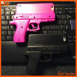 Étui pour téléphone iphone 5c 3d en Ligne-Mode Creative Cool 3D Gun Case Gun Forme Dur Couverture de cas de téléphone pour iPhone 5 5C 6 6 Plus 7 7plus livraison gratuite