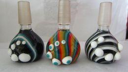 Canada Balançoire en verre épaisse bol en verre pour bong verre verre pipe à huile plates-formes joint avec bol de couleur mixte femelle de 14 mm et 18 mm Offre