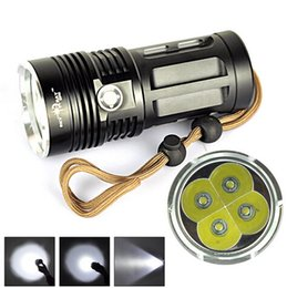 Argentina Super brillante Skyray Rey 6000 de la antorcha de alta potencia 4x Lumen del CREE XM-L XML T6 LED 4x lámpara de la linterna supplier super high power led flashlight Suministro
