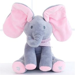 Wholesale Pig Toys For Birthday Gifts - 12inch 6 Style Elephant Soft Plush Toy Baby Children Doll Kawaii Pig Rabbit Stuffed Animals Christmas Toys for Kids Birthday Gift Size