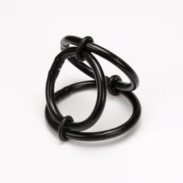 Canada Colliers de testicule de scrotum d'anneau de silicone médical, anneaux de pénis, serrure de pénis, anneau de coq, clamp de coq, jeu adulte, sex toy 1030 Offre