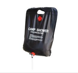 Chuveiro ao ar livre Saco de Água Portátil 20 L 5 Litros Saco de Chuveiro Camping Caminhadas Solar Aquecida Shower Bag Maravilhoso Kits de Viagem de Fornecedores de chocolate quente
