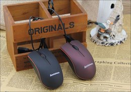 Wholesale Lenovo M20 Mini Wired D Optical USB Gaming Mouse Mice For Computer Laptop Game Mouse with retail box MQ50