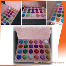 Wholesale Matte Pigment - The latest make-up CLEOF cosmetics 24 color 15 color combination of super-pigment flash shadow flashing eye shadow palette beauty flash eye