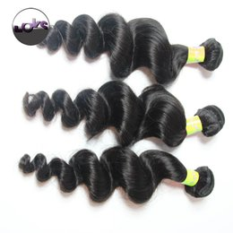 Wholesale Curly Remy Hair For Sale - 8A Mink Indian Virgin Hair Weave Loose Wave Unprocessed Indian Remy Virgin Human Hair Extensions Spring Curly Mixed Length For Sale
