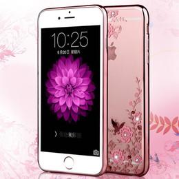 Wholesale Secret Case Iphone - New Secret Garden TPU Phone Cases Diamand Waterproof Case for iphone7 Plus iphone6 Samsung S7 Edge S6 S8 Plus Case