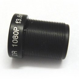 """Wholesale Ip Board Camera - Wholesale- 1 2.7"""" HD 3.6mm 95 Degrees Wide Angle CCTV IR Board Lens 1.0MP M12 1080p for IP camera"""