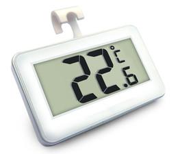 Argentina 10 unids Digital LCD Frigorífico Congelador Termómetro Termógrafo Probador para Temperatura del Refrigerador -20 ° C ~ 60 ° C con alarma de escarcha Suministro
