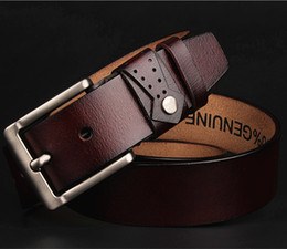 Wholesale Leather Belt Low Price - Fashion Designer Men Low Price Belts Waist Alloy Buckle Belt Factory Supply Luxury Fashion Brand Arrival High Quality Leather Men Belts