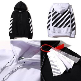 Wholesale High Collar Sweatshirt Women - Tide Brand Designer Off White Hoodies High Quality OFF-WHITE West Abloh Virgil Hoodie Sweatshirt Pullover Hoodies for Men and Women