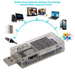 Wholesale Usb Detector Voltage Current Meter Tester - USB Charger Mobile Power Detector Battery Test Voltage Current Meter Power Bank Meter Capacity Tester KWS-10VA