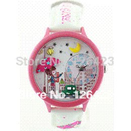 Wholesale Folding Child Table - Ms Korea mini watches soft ceramic watches watch children watch table umbrella girl students watches wrist watch